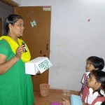 Teacher Explaning the Importance of First aid Box